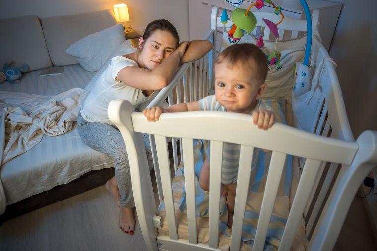 Too many sleepless nights? Baby sleep tech to the rescue